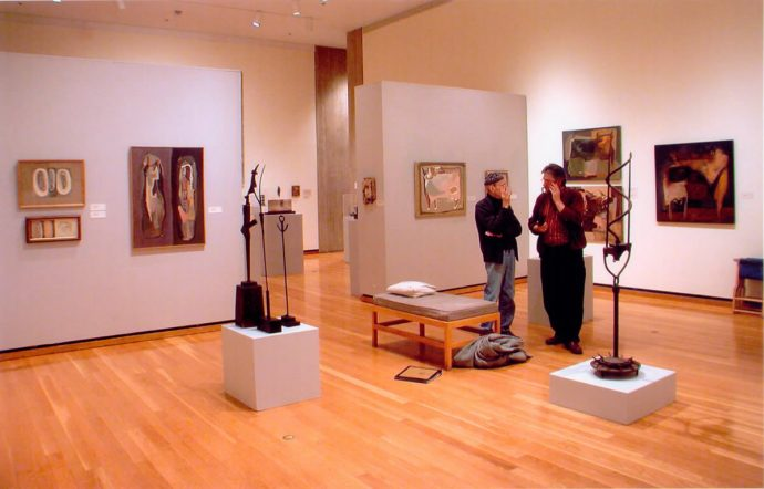 Norman Daly's H.F.Johnson Museum of Art Show in 2004 featured a selection of objects from the Civilization of Llhuros, and paintings from the 1940s and 50s.