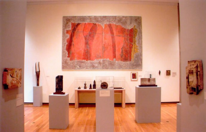 Norman Daly's H.F.Johnson Museum of Art Show in 2004 featured a selection of objects from the Civilization of Llhuros.