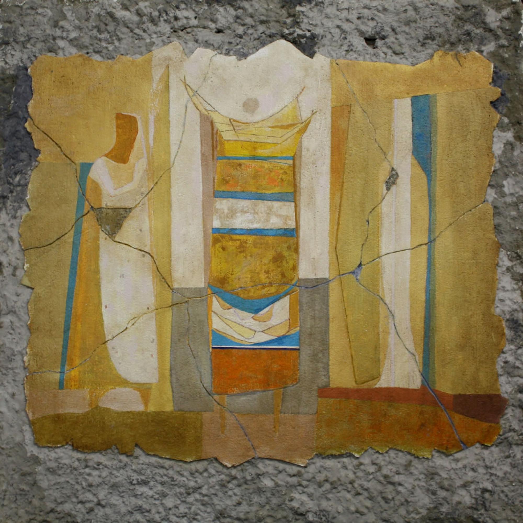 Fresco Mural Fragment