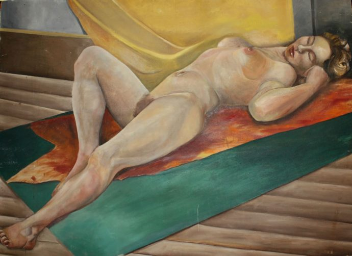Nude by Norman Daly