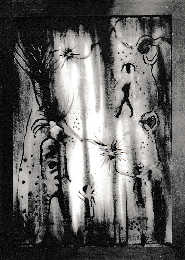 Masquerade by Norman Daly, 1945